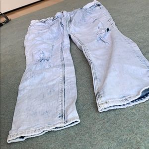 Express washed out jeans
